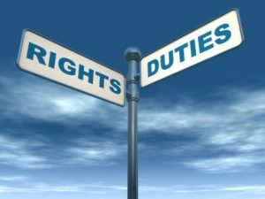 Rights and Duities
